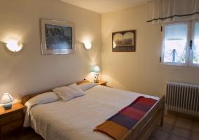 Habitación de matrimonio con calefacción