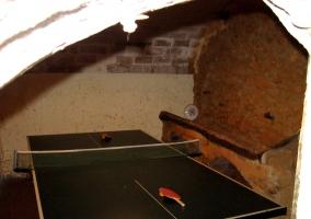 Sala con pingpong