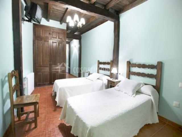 Habitación doble con 2 camas