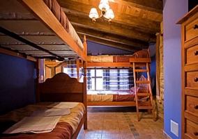 Dormitorio 5 plazas