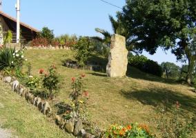 Jardín en ladera