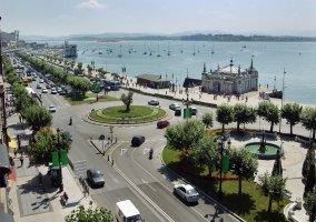 Vista de Santander