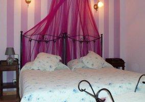 Habitación doble las lilas