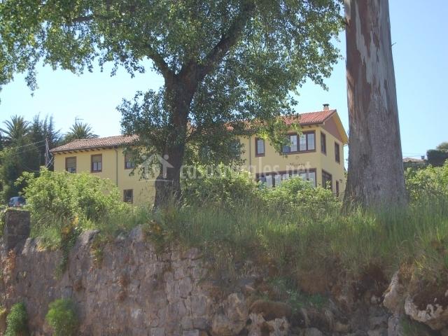 La casa desde la Ria