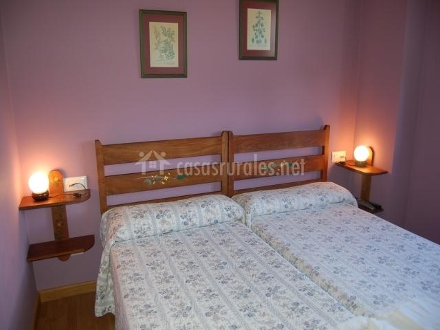 Otras dos camas individuales