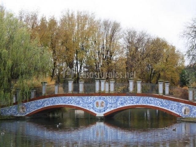 Talavera de la Reina, puente sobre el río Tajo