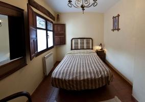 Habitación doble con calefacción