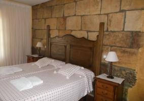 Dormitorio floreado