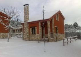 Exterior de las casas
