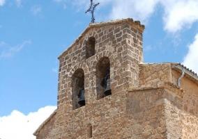 Zona centro con la iglesia de Villalba