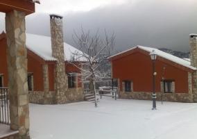 Nuestras casas nevadas