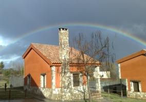 Arco iris en una de nuestras casas