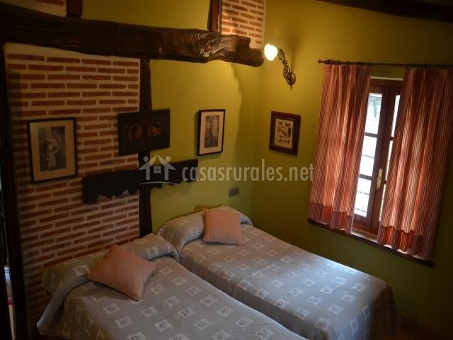 Dormitorio ladrillo