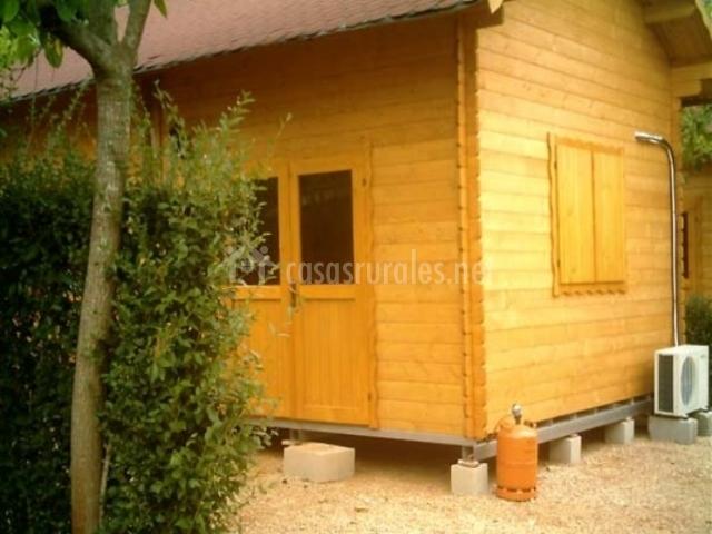 Caba as y bungalows de madera la falaguera en barx valencia - Bungalow de madera ...
