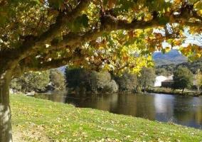 Río Alberche del entorno de la casa