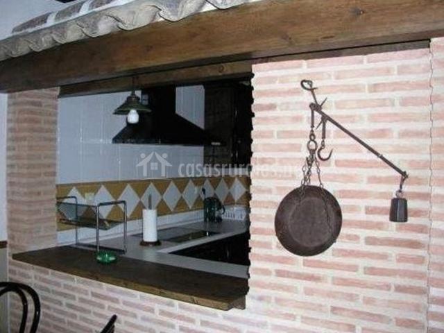 Detalles antiguos en la cocina