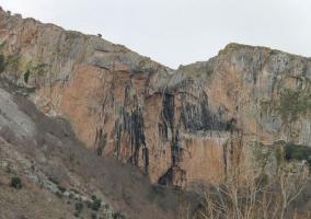 Zona de las montañas de la sierra