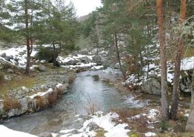Zona del río en el entorno