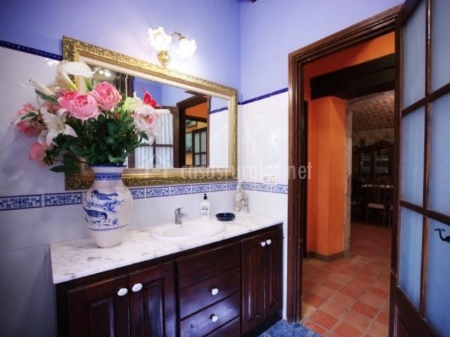 Baño junto a la cocina