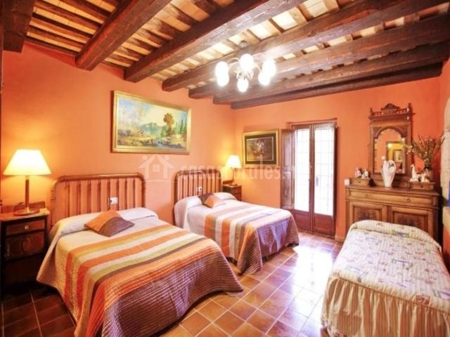 Dormitorio para 5