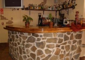 Bar con televisor
