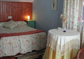 Dormitorio de matrimonio en la casa
