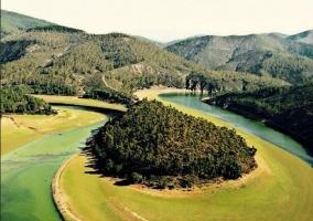 Zona de paisaje natural en el entorno