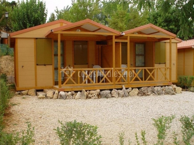 Camping mariola bungalows y caba as en bocairent valencia - Casas rurales bocairent ...