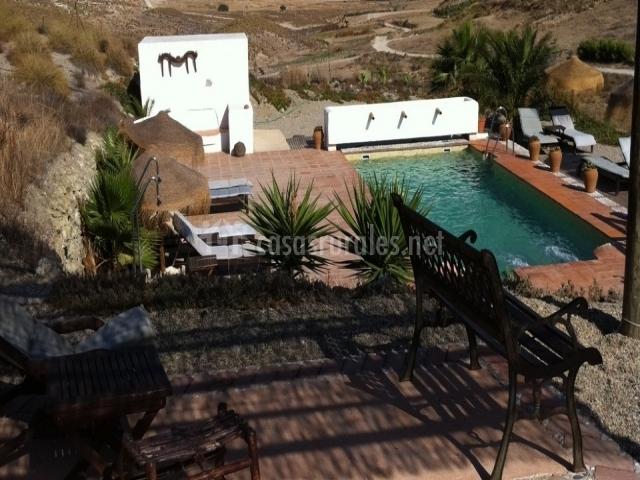 Cortijo los malenos hotel rural en nijar almer a - Hotel los patios almeria ...