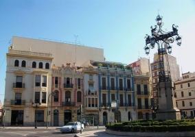 Plaza de España en Castellón