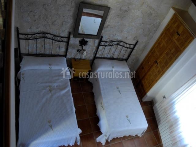 Dormitorio Doble desde Arriba