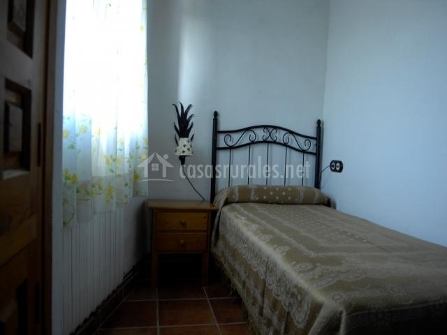 Dormitorio Indiviudal con Calefaccion