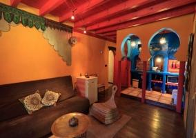 Salón y cocina Shiva