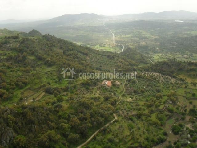 Casa rural v a de la plata en aldea del cano c ceres - Montanchez casa rural ...