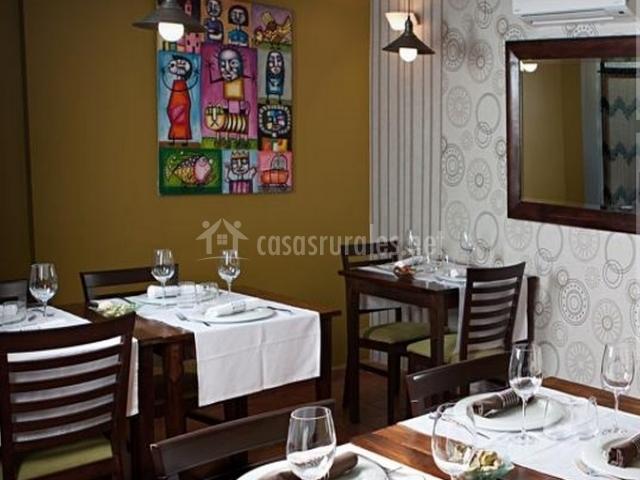 Restaurante de la casa rural