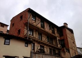 Corredor de los apartamentos