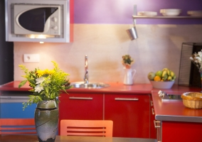 Apartamento 2 pax cocina