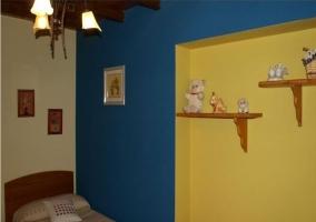 Dormitorio triple infantil