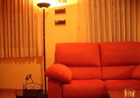 Detalle de los sofás