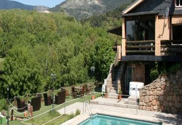 Casas rurales en cercedilla for Casas rurales sierra de madrid con piscina