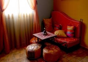 La jaima con sala de estar
