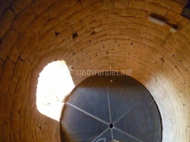 Interior de la Torre de Manresana