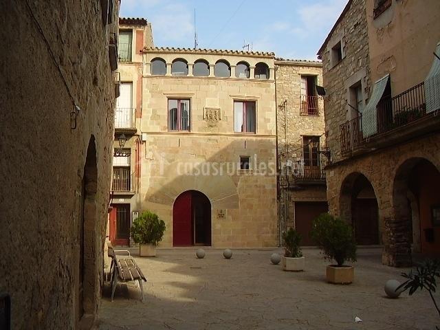 Plaza del Ayuntamiento de Prat del Rei