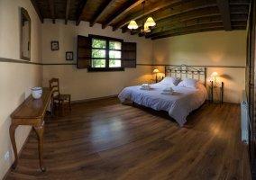 Dos camas en otra habitación