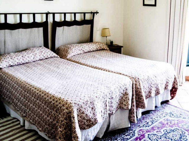 dormitorio doble con cabeceros de tela - Cabeceros De Tela