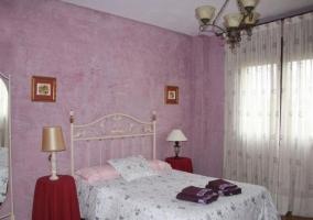 Dormitorio cuádruple con camas individuales
