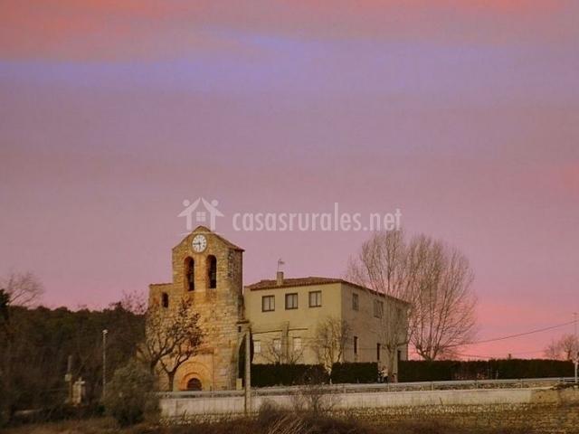 Zona de la Iglesia de Santa Magdalena