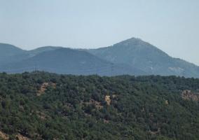 Vista de la Sierra de San Vicente