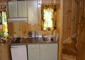 Cocina del bungalow