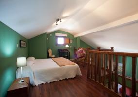 Dormitorio del altillo
